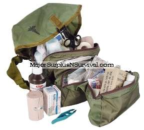 Military Surplus Medical Kits Army Bags First Aid Kits MOLLE